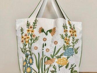 刺繍トートバッグ 受注製作の画像