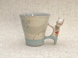 動物マグカップ・うさぎ 10-10の画像
