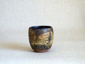 湯呑 (金彩いちょうa)の画像