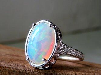オパール リング * Ethiopian Opal Ringの画像