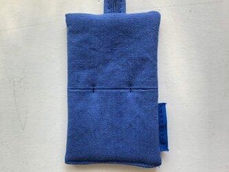鍋つかみ/ブルーの画像