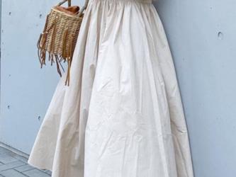 【送料無料♪プリンセスドレス ノースリーブスカート  ゆったりロングスリムドレス レトロエレガンスの画像