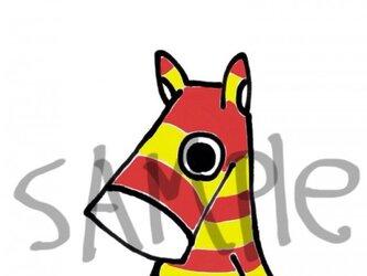 干支の馬その2の画像
