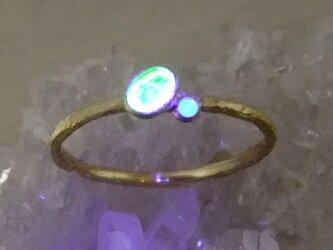 光る木の実*K18 ringの画像