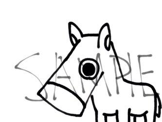 干支の馬その5の画像