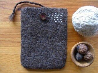 羊毛フェルトポーチ(a)の画像