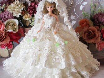 ローズレーヌ孤高のウエディングドレス 華麗なラグジュアリーローズのシンフォニー 豪華4点セットの画像