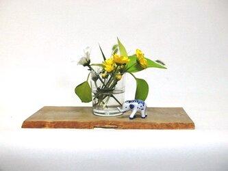 天然木花台・飾り台  No.17 朴の天然木 KD-28の画像