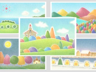 ポストカード5枚セット。No.1の画像