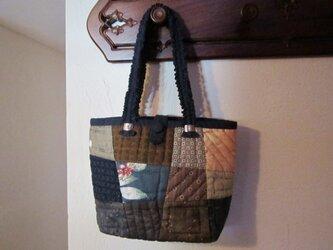 パッチワークのバッグの画像