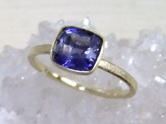 アイオライト*K10 ringの画像