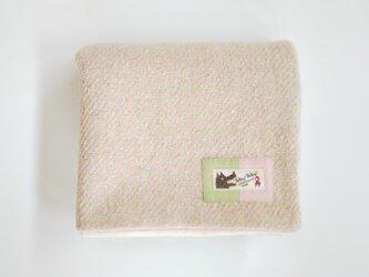 尾州ウールの小さなブランケット 約43cm×70cmの画像