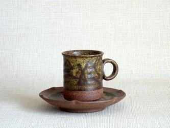デミタスカップ&ソーサー(幾何紋1)の画像