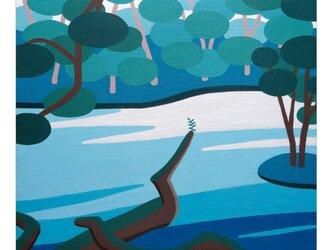 厳選されたA4ポスター:Mossy fallen treeの画像