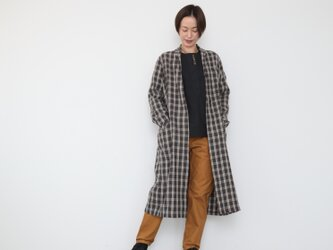 Omagown / gray checkedの画像