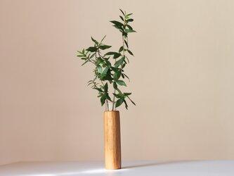 木の花瓶【ホワイトオーク材】の画像