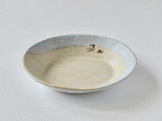 楕円深皿 [ 白鳥がやって来た ]の画像
