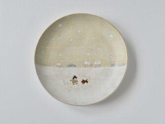 取皿 [ 雪がつもったよ ]の画像