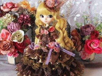 マリーアントワネット♥大人の甘さ薫るビタースウィートなミルフィーユマーメイドドレスの画像