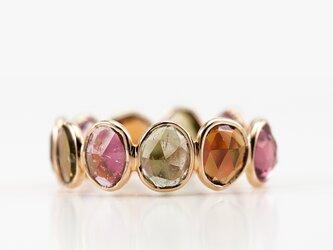 Tourmaline eternity ringの画像