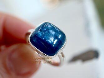 藍色のImpact カイヤナイト ringの画像