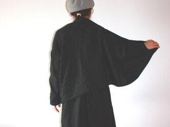 コットンウール 羽織ショールカーデの画像