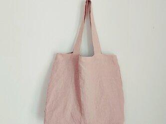 肩掛けトートbag L  ベビーピンクの画像