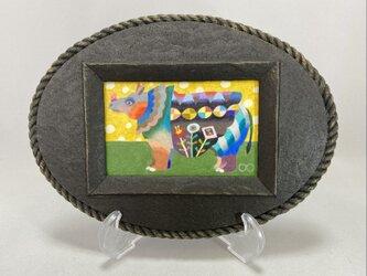 色鉛筆ミニ作品「クレア」の画像
