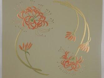 漆の天井絵 山鳩 彼岸花の画像