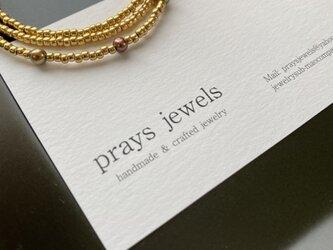 秋冬タートルに!Pearls Necklaces Bronze×Goldの画像