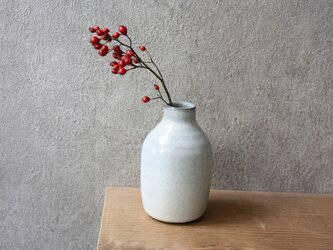 花瓶(白)の画像