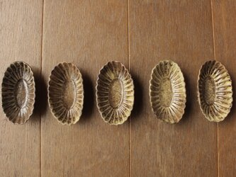 お菓子型の豆皿の画像