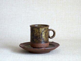 デミタスカップ&ソーサー(幾何紋2)の画像