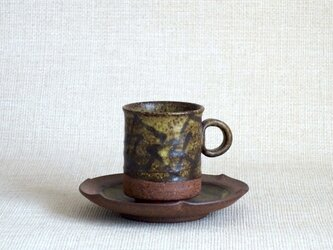 デミタスカップ&ソーサー(幾何紋3)の画像