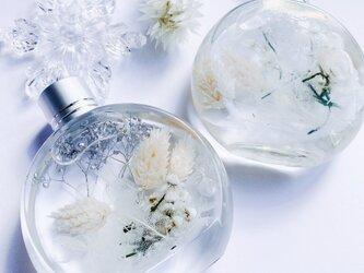 【2本セット】雪のハーバリウム  snowの画像