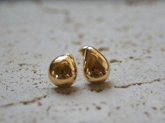 <受注オーダー>one (bubble gold pierce)の画像