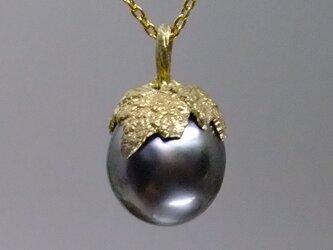 葡萄*925/K18gp pendantの画像