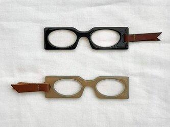 ★ルーペ スクエア型 ブラック★ 母の日 父の日 敬老の日 プレゼント ギフト 老眼鏡 拡大鏡 ペンダント ポケットの画像