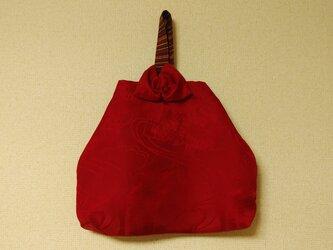 柔らかな和の手提げ袋の画像