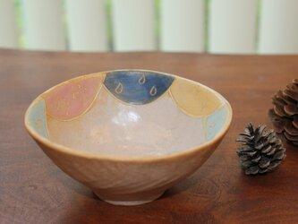 色化粧ご飯茶碗2の画像