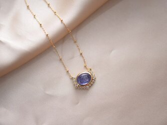 ソフィア|タンザナイト ダイヤモンド ネックレスの画像