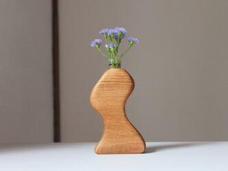 木の花瓶【ニレ材】の画像