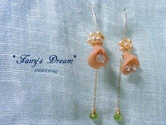 *Fairy's Dream* 14kgfピアスの画像