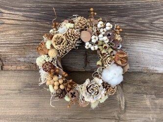 atelierBLUGRA八ヶ岳〜秋を集めた木の実のWreath2104の画像