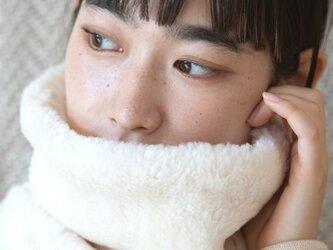 Organic Cotton Fur ふわふわネックウォーマー【Bigサイズ】 の画像