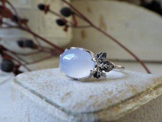 SV アイビーリーフのリング(カルセドニー)の画像