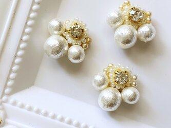 pearl pearl pearl イヤリングの画像