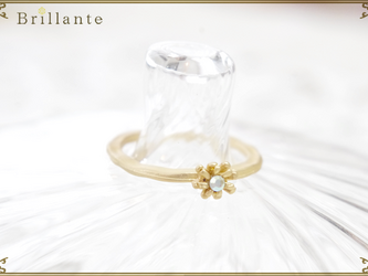petit florence ring (SG-opal)の画像
