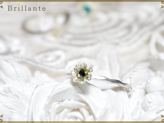 petit florence ring (MS-gray)の画像