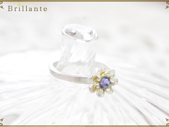 petit florence ring (LS-lilac)の画像